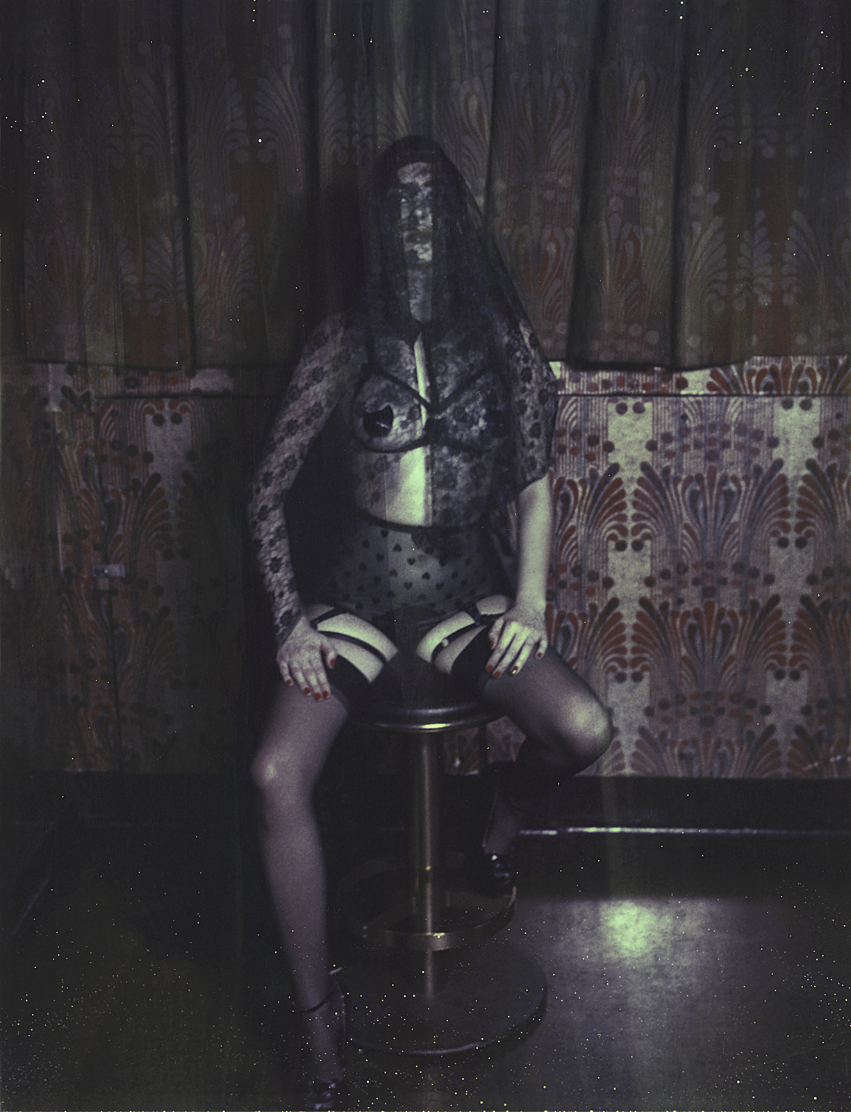 Marie-Fleur Charlesworth MARY OH! Berlin Lingerie House _ Polaroids Look Book