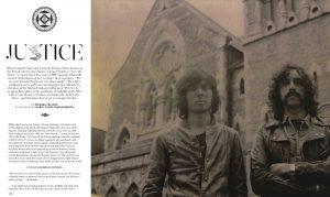 Marie-Fleur Charlesworth BULLET Magazine JUSTICE Band Portraits