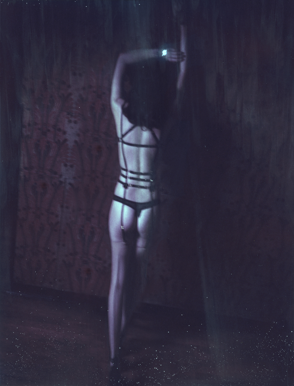 Marie-Fleur Charlesworth MARY OH! Berlin Lingerie House _ Polaroids Look Book